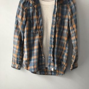 American Eagle Outfitters Tops - Boyfriend fit Flannel-small
